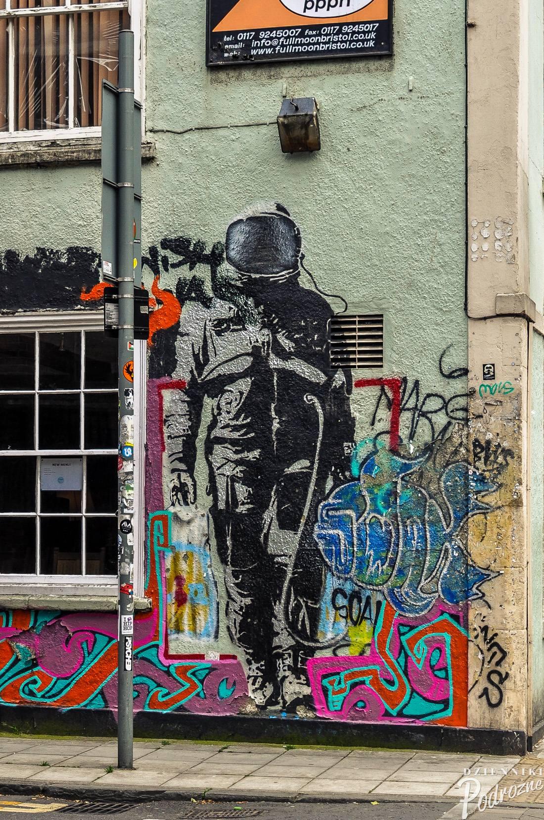 street art w Bristolu