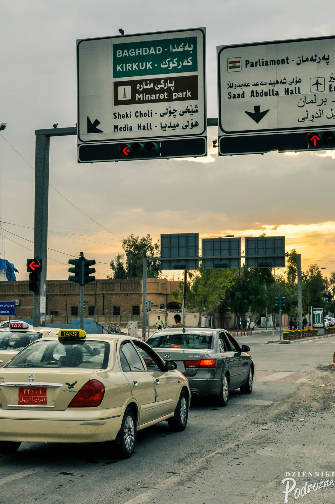 kierunek Bagdad...