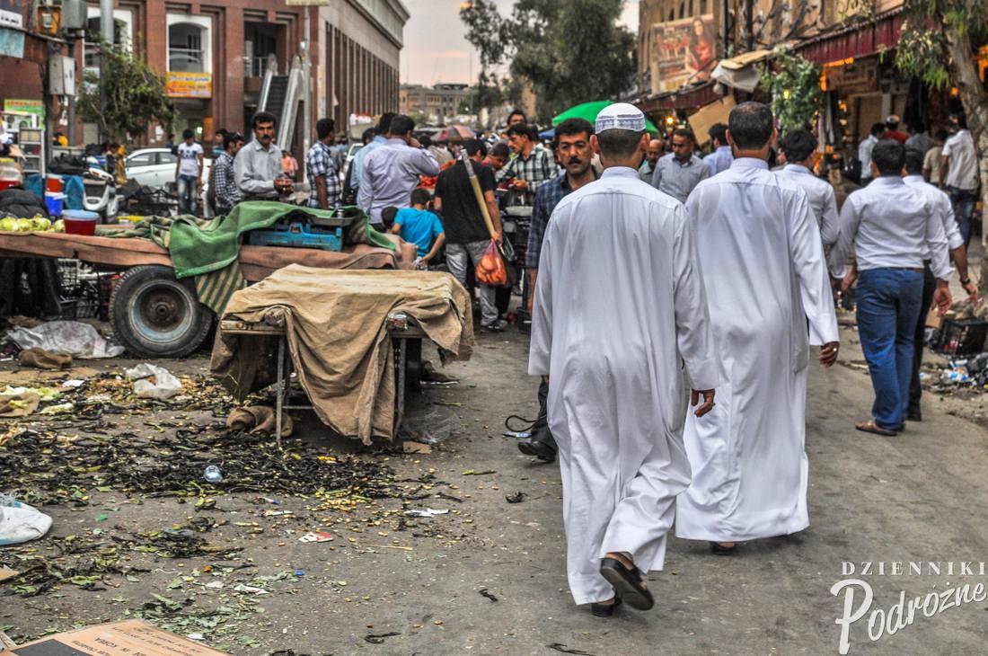 bazar (souk) w Erbilu - stolicy Irackiego Kurdystanu