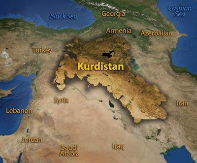Kurdystan (źródło: http://www.drillingcontractor.org)