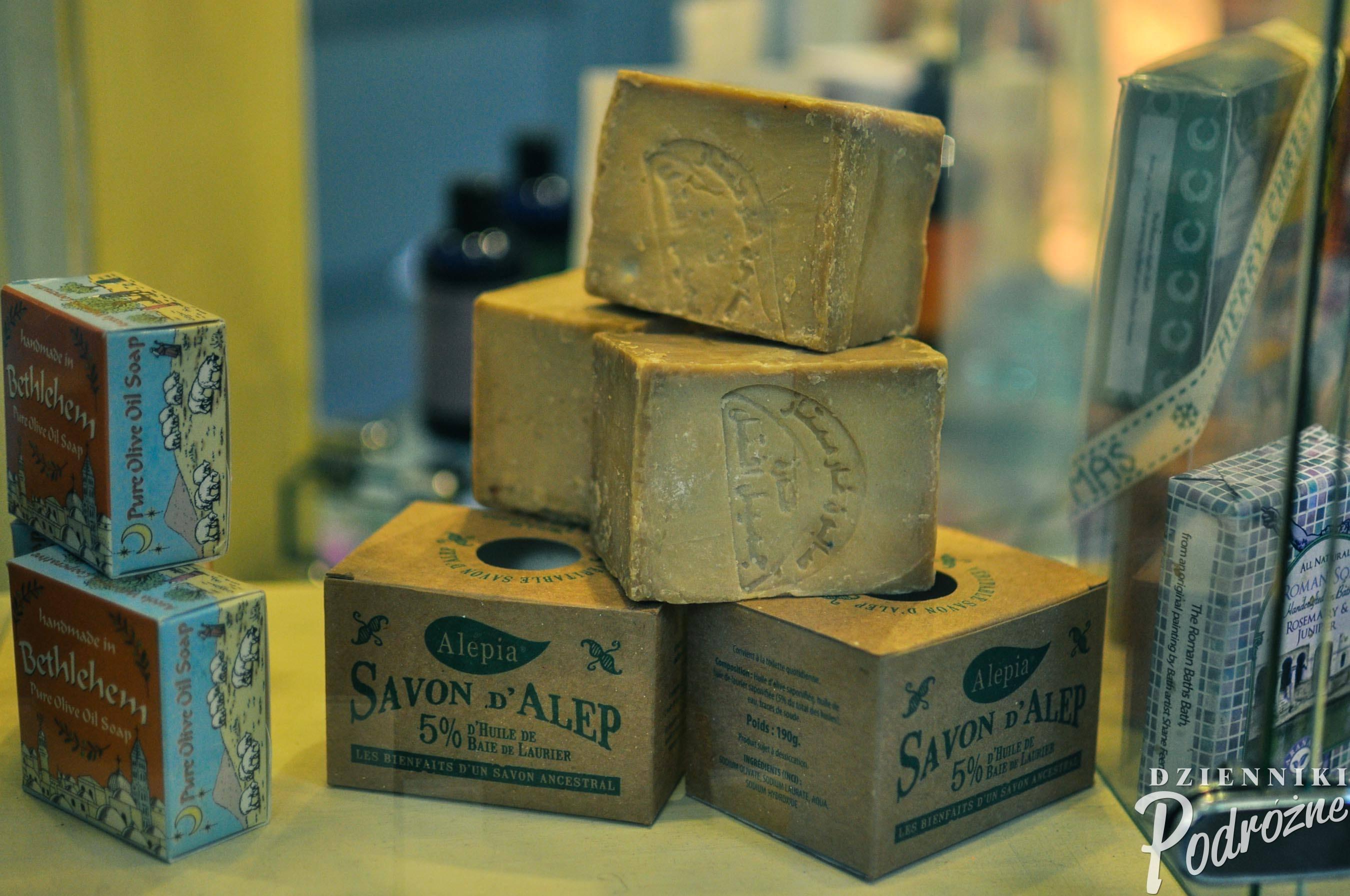 Bath, Wielka Brytania (mydła z Aleppo - cena ponad 20 x wyższa niż w Syrii)