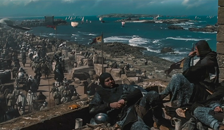 """Essaouira jako Jerozolima – kadr z filmu """"Królestwo Niebieskie"""""""