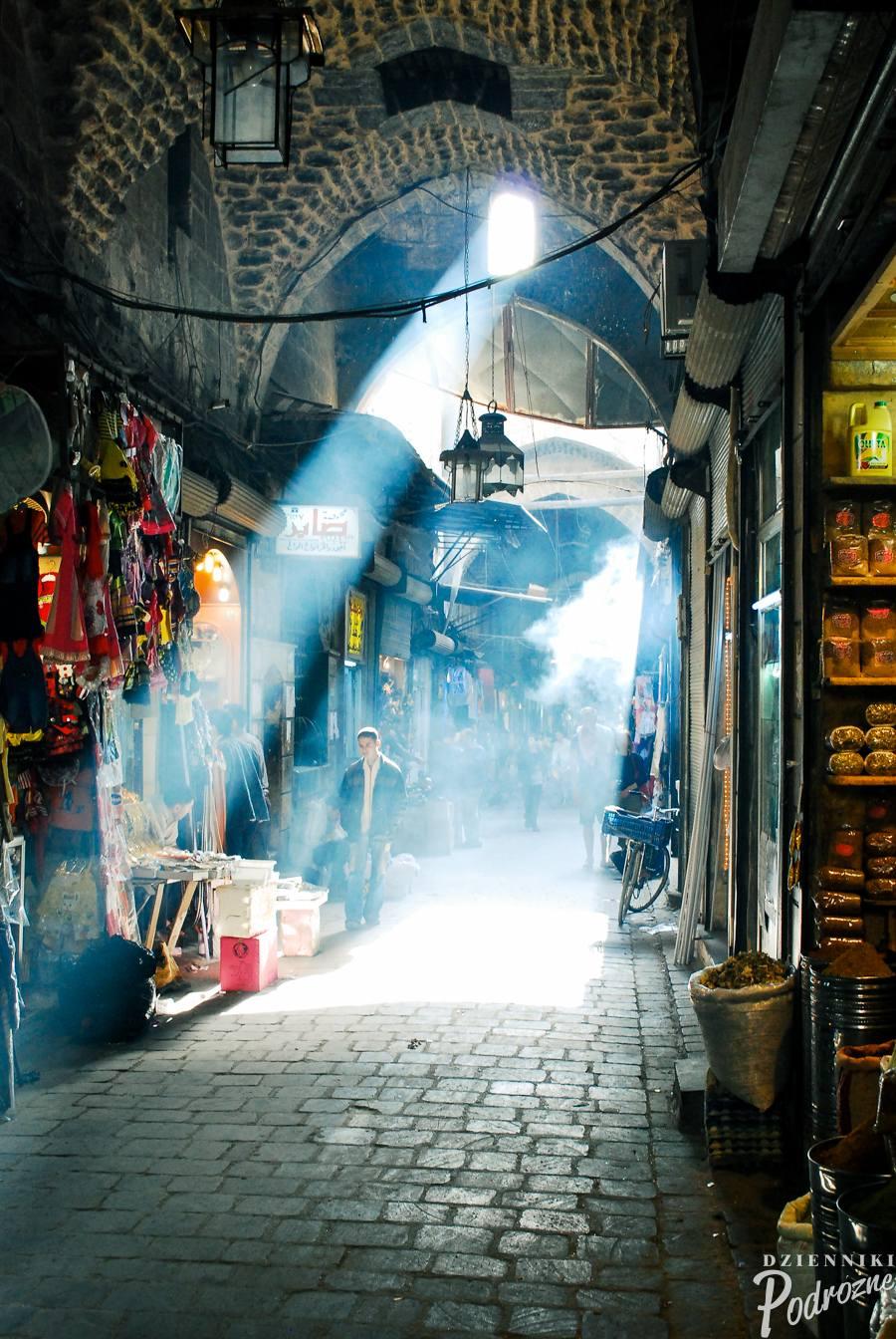 Bazar w Aleppo / 2009 r.