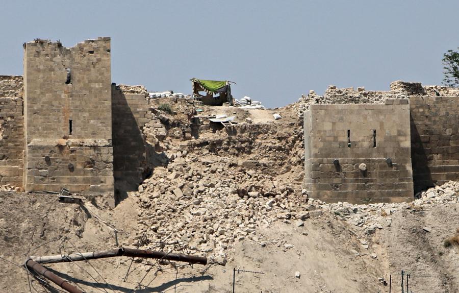 Bazar w Aleppo / 2012 r. (źródło: http://www.vicemag.tumblr.com)